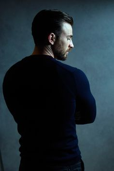 Chris Evans, movie hero.