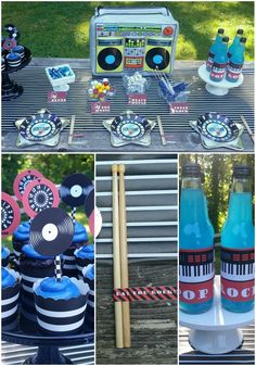 Design Dazzle Summer Camp 2015 - Dad, You Rock! Father's Day Table