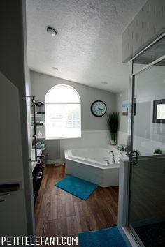 master bathroom after photo