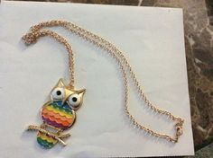 Fashion Trendy Owl Long Necklace Trendy Jewelry, Vintage Earrings, Trendy Fashion, Owl, Pendant Necklace, Fashion Jewelry, Owls, Moda, Drop Necklace
