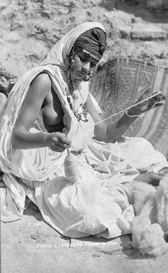 Berber woman, Algeria