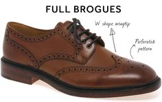 Brogues are trendy year in, year out and are the perfect Autumn shoe