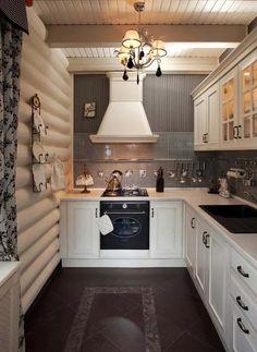 Секреты проектирования кухни со встраиваемым духовым шкафом.