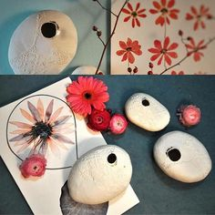 Bon dimanche ensoleillé! #primavera #printempstueslà #flowers #sun #arbol #branch #ceramics #porcelain #cocon #vase #herbier #dentelle #gold #creditphotomarieroura #myriamaitamarceramics
