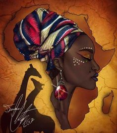 ideas black art painting woman africa - ideas black art painting woman africa The Effective Pictures We Offer You About Beauty and the - African Drawings, African Art Paintings, African Artwork, Black Art Painting, Black Artwork, Black Love Art, Black Girl Art, Afrika Tattoos, Afrique Art