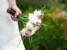 Букет невесты без портбукета нежный