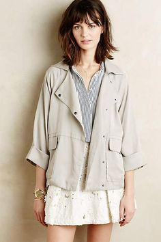Maira Swing Coat - anthropologie.com