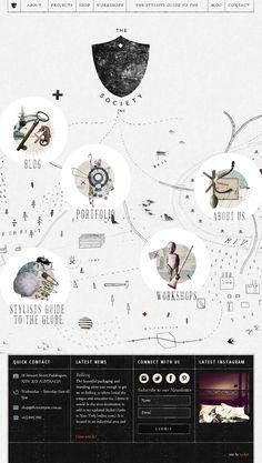 Website inspiration The Society Inc | #webdesign #it #web #design #layout #userinterface #website #webdesign