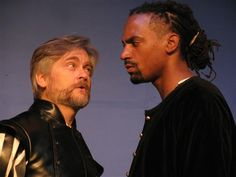 George Hartpence and Carlo Campbell as Iago and Othello at ActorsNET
