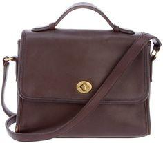COACH VINTAGE mini satchel - Polyvore