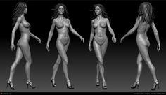 Woman Anatomy Reference  Nude