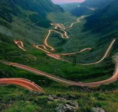 Mountain Road, Romania - makes me dizzy just looking at it from here :>)