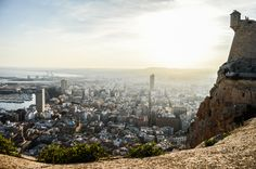Alicante - View from the Eagle nest
