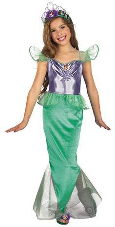 Disney Little Mermaid Princess Ariel Kids Costume Little Mermaid Costumes - Mr. Costumes