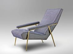 Designed in 1953, the D.153.1 Armchair was part of the furniture at Gio Ponti's private house in via Dezza in Milan. This re-edition is produced by Molteni&C based on the original drawings from the Ponti archives.