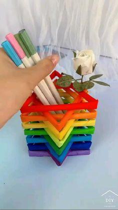 Diy Crafts Hacks, Diy Crafts For Gifts, Diy Arts And Crafts, Creative Crafts, Easy Crafts, Crafts For Kids, Toddler Crafts, Diy Projects, Cool Paper Crafts