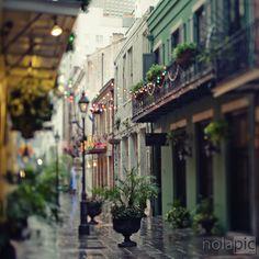 French Quarter in Rain - New Orleans | by NoLa pic | via scentofapassion