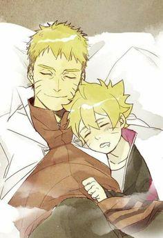 Naruto and Boruto Uzumaki    Boruto: Naruto Next Generations