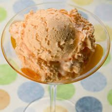 Georgia Peach Homemade Ice Cream Recipe