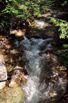 Franconia Notch River by BMRphotographs on Etsy