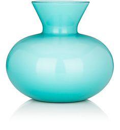 Venini Idria Short Squatty Vase - Art Glasses & Vases - 504810671