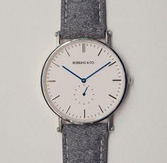 Our Classic 40mm Glencoe watch featuring an ultra-thin case, Swiss quartz…