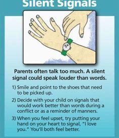 Positive Discipline: SILENT SIGNALS
