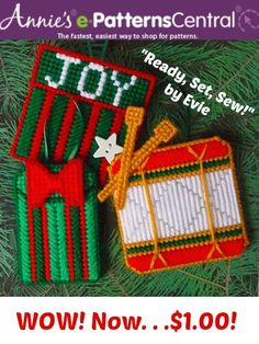 """❆ Christmas comes early! ❆ Pick up my """"Memory Pockets"""" pattern for $1 at e-Patterns Central's latest sale!"""