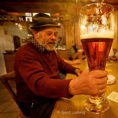 """""""Oktoberfest is in full swing now in Munich. Germans love their beer religiously. Literally. Around 60 miles from Munich is Marktl, the birthplace of…"""""""