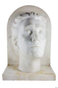 Arrigo Minerbi (1881 - 1960), Eleonora Duse, marmo bianco di Carrara.