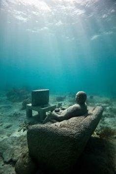 Underwater Sculptures in Grenada