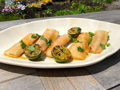 Lime Recipes, Chef Recipes, Grilling Recipes, Food Network Recipes, Cooking Recipes, Fish Dishes, Seafood Dishes, Fish And Seafood, Seafood Recipes