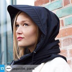 Joli substitut de chapeau en cas de pluie, jaquotte_paris.