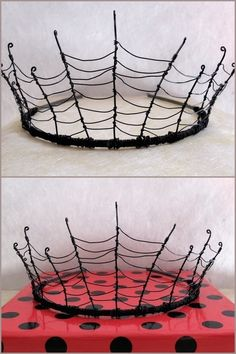 DIY Inspiration: Wire Cobweb Crown designed by Alex Gumn and sold out at Folksy. If you read my other blog truebluemeandyou, there are pages...