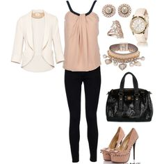 Adorable Dressy Going Out Look, created by hasnija.polyvore.com