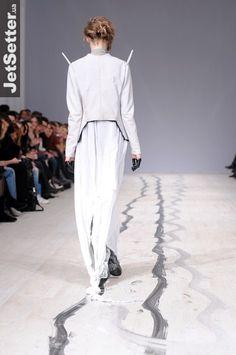 .. not here    Burenina f/w 2013 fashion show