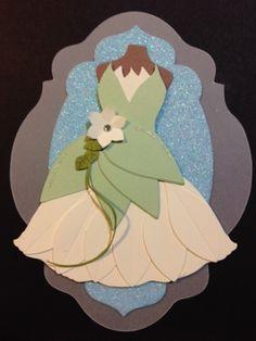 Punch Out Tiana Dress #DIY #Disney #PrincessAndTheFrog