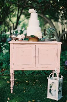 cake table http://www.weddingchicks.com/2013/08/28/old-spanish-wedding-ideas/