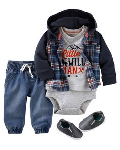 Haha William totally needs this outfit, he's one mighty, wild, little man!!