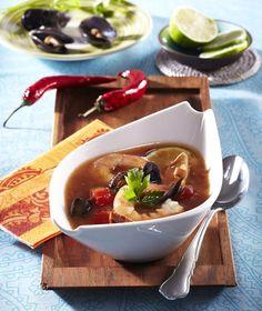 Polévka s krevetami Ramen, Soup, Ethnic Recipes, Soups, Soup Appetizers, Windows