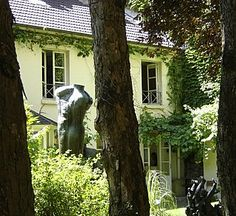Zadkine Museum Garden (visited in 2008) -- Paris, 6th Arr. -- a jewel of a museum quietly tucked away on a very small, narrow street, shamefully easy to overlook.