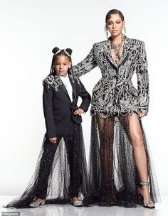 Mimi Bey: It's a family affair for Beyonce . On Tuesday the singer announce that both her husband Jay-Z and her daughter Blue Ivy would be featured on the soundtrack for The Lion King, named The Gift. Here Blue and Beyonce are seen last week Beyonce 2013, Beyonce And Jay Z, Beyonce Sister, Beyonce Family, Rihanna, Blue Ivy Carter, Celebrity Kids, Celebrity Style, Royals