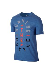 Nike Run Hustle 776634-456 Hustle, Running, Nike, Mens Tops, T Shirt, Fashion, Racing, Tee, Moda