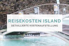 Mein Beitrag über die Kosten Island . Da mich ja schon sehr viele gefragt haben, ob ich einen detaillierten Bericht über die Kosten vom Islandurlaub schreiben kann, kommt jetzt auch endlich die genaue Information :o) Also um es gleich mal auf den Punkt zu bringen, Island ist schweineteuer! Und zwar alles. Der Flug