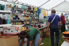 Fiesta Ware. Brimfield Antiques Flea Market