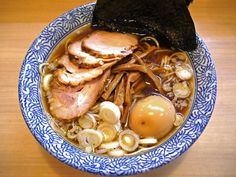 Chuka Soba Takano for chicken with seafood broth and no MSG ramen; featured in guidebooks - Shinagawa-ku, Tokyo