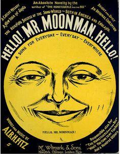 Hello Mr. Moon Man | by Hopkins Rare Books, Manuscripts, & Archives