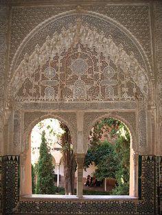 Mirador of Lindaraja, Alhambra, Spain