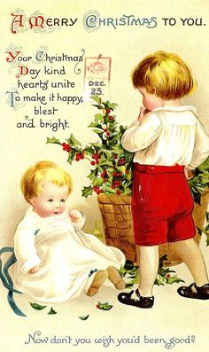 .I always like to see little boys in Christmas cards, they're kind of hard to find.