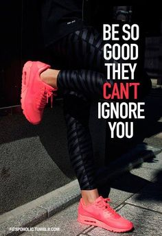 Be so good, they cant ignore you quotes quote fitness workout motivation ignore exercise motivate workout motivation exercise motivation fitness quote fitness quotes workout quote workout quotes exercise quotes